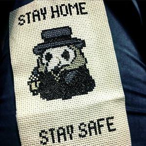 Plague Doctor - Cross Stitch